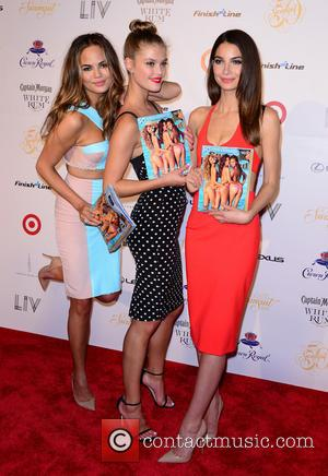 Chrissy Teigen, Nina Agdal and Lily Aldridge