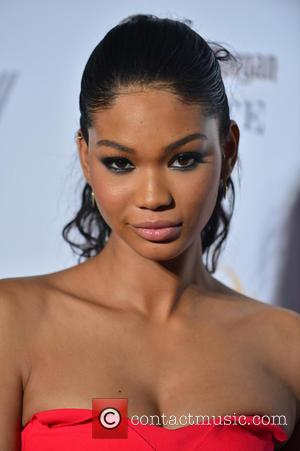 Chanel Iman Almost Bitten By Lemur On Magazine Shoot