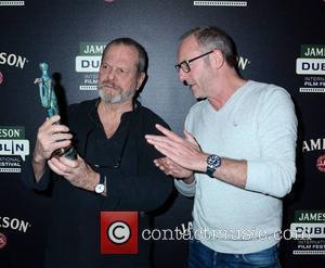 Terry Gilliam and Liam Cunningham