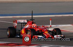 Kimi Raikkonen - Bahrain Formula 1 - Testing Day - Manama, Bahrain - Friday 21st February 2014