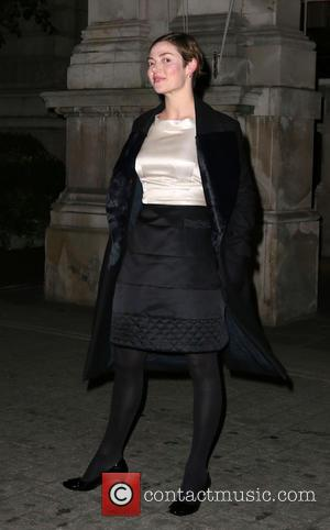 Camilla Rutherford - Cocktails with Marilyn Photo Exhibition at the Langham Hotel - Outside Arrivals - London, United Kingdom -...