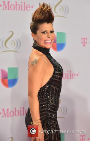 Alejandra Guzman - Premio Lo Nuestro 2014 (Lo Nuestro Latin Music Awards) held at the American Airlines Arena - Arrivals...