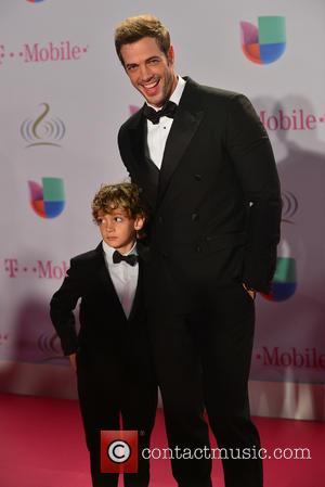 William Levy and Christopher Levy - Premio Lo Nuestro 2014 (Lo Nuestro Latin Music Awards) held at the American Airlines...