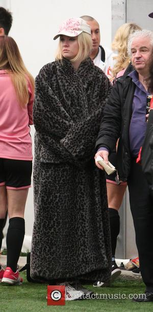 Kitty Brucknell - Soccer Six: Next Generation held at The London Soccerdome - London, United Kingdom - Friday 21st February...