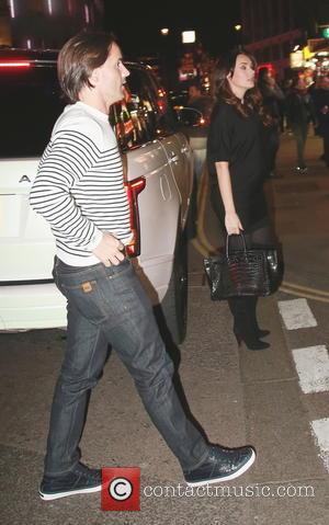 Tamara Ecclestone and Jay Rutland - Pregnant Tamara Ecclestone and Jay Rutland arrive at the Prince of Wales Theatre to...