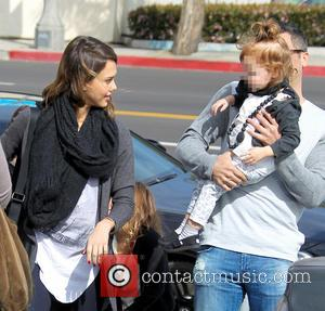 Jessica Alba, Haven Warren and Cash Warren
