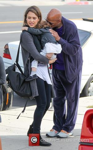Jessica Alba, Haven Warren and Michael Warren - Jessica Alba, husband Cash Warren and their daughters go out to brunch...