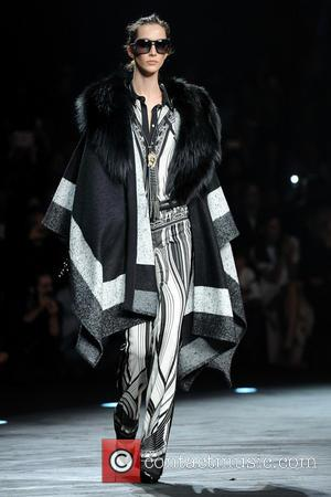 Sfilata Roberto Cavalli - Milan Fashion Week Womenswear Autumn/Winter 2014 - Roberto Cavalli - Catwalk - Milan, Italy - Saturday...