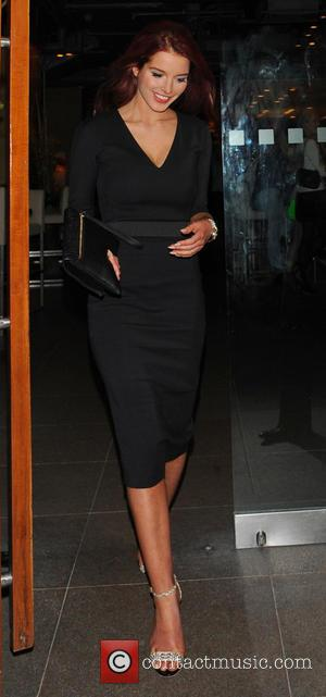 Helen Flanagan - Helen Flanagan and boyfriend Scott Sinclair leave Zuma restaurant and head to The Athenaeum Hotel - London,...
