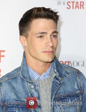 Colton Haynes - Abercrombie & Fitch 'The Making of a Star' Spring Campaign Party held at Siren Studios in Los...