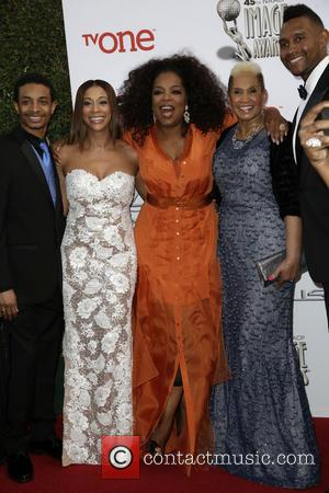 Oprah Winfrey - 45th NAACP Image Awards at Pasadena Civic Auditorium - Arrivals - Los Angeles, California, United States -...