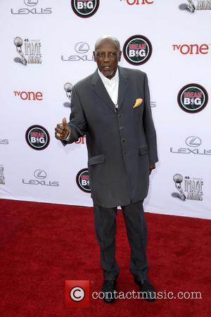 Lou Gossett Jr. - Celebrities attend 45th NAACP Image Awards at Pasadena Civic Auditorium. - Los Angeles, California, United States...