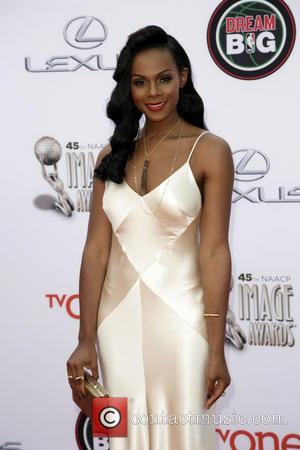 Tika Sumpter - 45th NAACP Image Awards at Pasadena Civic Auditorium - Arrivals - Los Angeles, California, United States -...