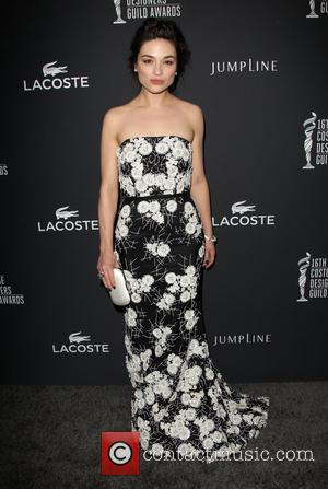 Crystal Reed - The 16th Costume Designers Guild Awards - Arrivals - Beverly Hills, California, United States - Saturday 22nd...