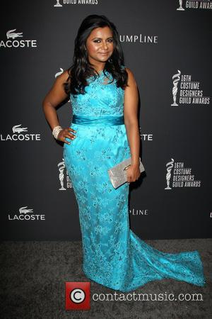 Mindy Kaling - The 16th Costume Designers Guild Awards - Arrivals - Beverly Hills, California, United States - Saturday 22nd...