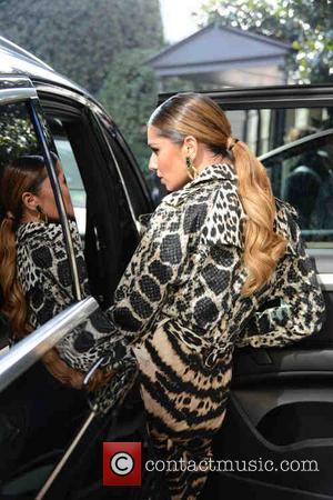 Cheryl Cole - Milan Fashion Week Womenswear Autumn/Winter 2014 - Roberto Cavalli - Arrivals - Milan, Italy - Saturday 22nd...