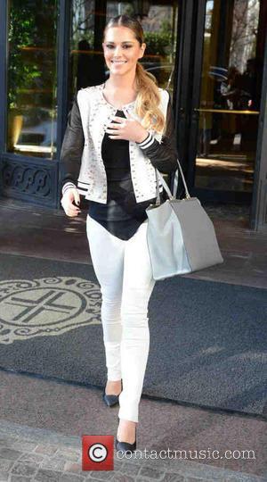 Cheryl Cole - Milan Fashion Week Womenswear Autumn/Winter 2014 - Celebrity Sightings - Milan, Italy - Saturday 22nd February 2014
