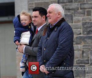David Keoghan and Bertie Ahern