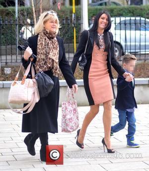 Nicky Byrne, Miriam Ahern, Georgina Byrne and Twins Jay & Rocco Byrne