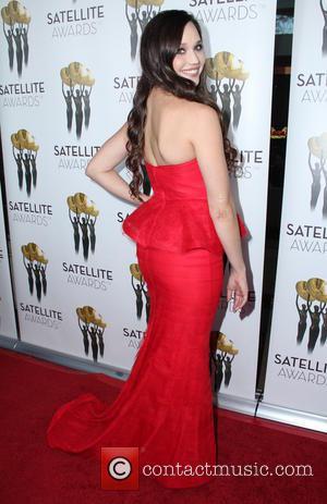 Jaclyn Betham - International Press Academy Satellite Awards at InterContinental Hotel - Arrivals - Los Angeles, California, United States -...