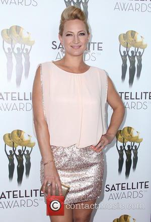 Zoe Bell - International Press Academy Satellite Awards at InterContinental Hotel - Arrivals - Los Angeles, California, United States -...