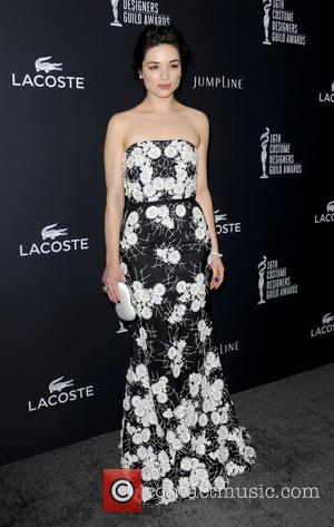 Crystal Reed - The 16th Annual Costume Designers Guild Awards - Los Angeles, California, United States - Sunday 23rd February...