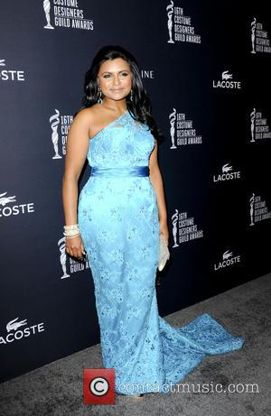 Mindy Kaling - The 16th Annual Costume Designers Guild Awards - Los Angeles, California, United States - Sunday 23rd February...