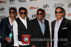 Jermaine Jackson, Jackie Jackson, Tito Jackson and Marlon Jackson - at Planet Hollywood Resort & Casino In Las Vegas, NV...