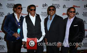 Jermaine Jackson, Jackie Jackson, Tito Jackson and Marlon Jackson - Red Carpet for RockTellz and Cocktails Presents The Jacksons at...