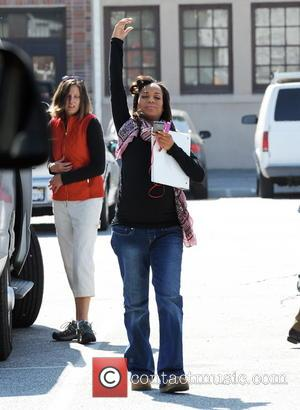 Kerry Washington - Pregnant Kerry Washington shows off her baby bump as she arrives on the set of her hit...