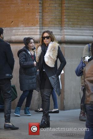 Lala Anthony - Lala Anthony shooting for her reality show - Manhattan, New York, United States - Monday 24th February...
