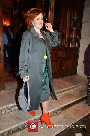 Kacey Ainsworth - The Full Monty Press Night at the Noël Coward Theatre - London, United Kingdom - Tuesday 25th...