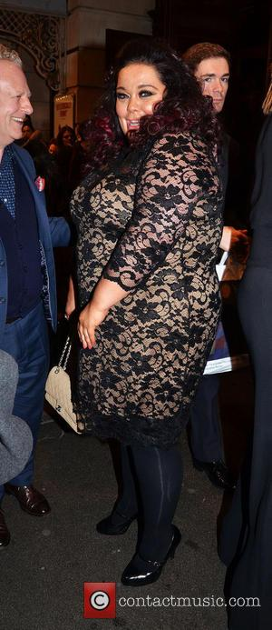Lisa Riley - The Full Monty Press Night at the Noël Coward Theatre - London, United Kingdom - Tuesday 25th...