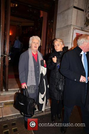 Stephanie Cole - The Full Monty Press Night at the Noël Coward Theatre - London, United Kingdom - Tuesday 25th...