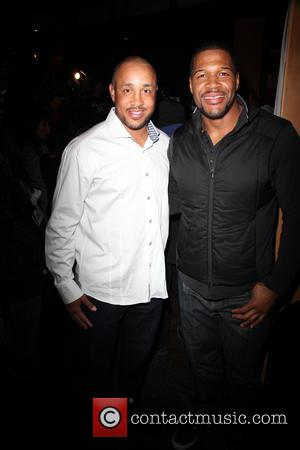 John Starks and Michael Strahan