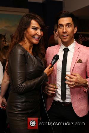 Lizzie Cundy and Russell Kane