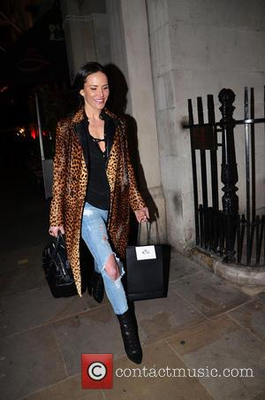 Sophie Anderton - Total Minx launch party held at the Soho Sanctum Hotel - Departures - London, United Kingdom -...