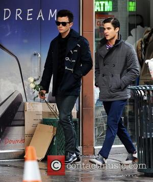 Chris Colfer and Darren Criss -