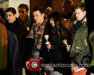 Lea Michele, Chris Colfer, Chord Overstreet and Darren Criss