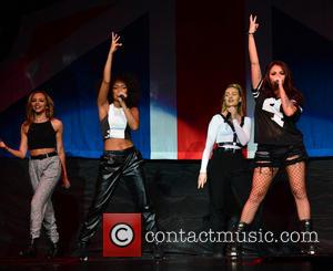 Jade Thirlwall, Leigh-anne Pinnock, Perrie Edwards and Jesy Nelson Of Little Mix