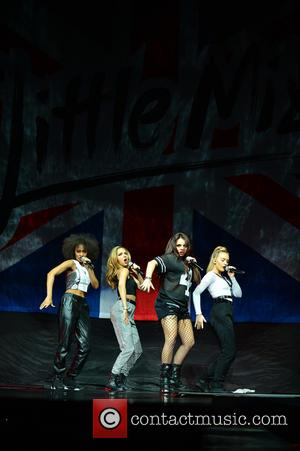 Perrie Edwards, Jade Thirlwall, Leigh-anne Pinnock and Jesy Nelson Of Little Mix