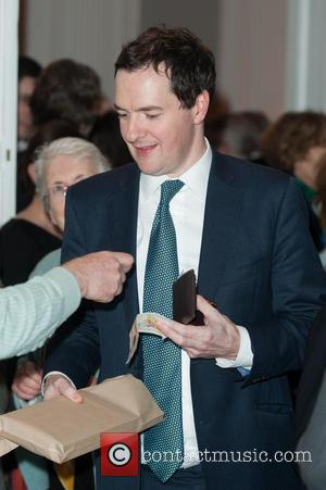 Chancellor George Osborne - James Naughtie: The Madness of July - book launch party held at the Institute of Contemporary...