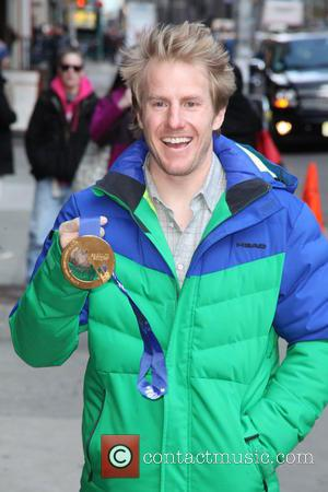Ted Ligety - 'The Late Show with David Letterman' at the Ed Sullivan Theater - Arrivals - NYC, New York,...