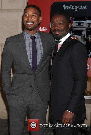 Michael B. Jordan and David Oyelowo - 2nd Annual ICON MANN 50 pre-Oscar dinner party held at the Peninsula Hotel...