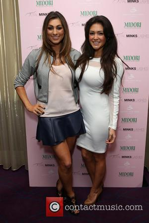 Luisa Zissman and Casey Batchelor - Total Minx - launch party held at the Soho Sanctum hotel - London, United...