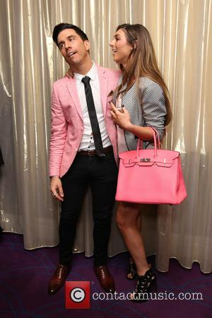 Russell Kane and Luisa Zissman - Total Minx - launch party held at the Soho Sanctum hotel - London, United...