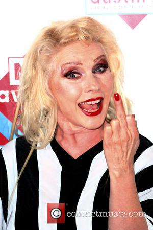 Debbie Harry and Blondie - The NME Awards 2014 held at O2 Academy Brixton - Arrivals - London, United Kingdom...