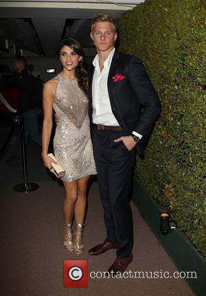Alexander Ludwig and Nicole Pedra