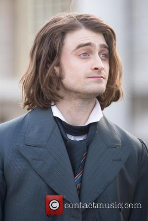 Daniel Radcliffe - Daniel Radcliffe shooting scenes for the film remake of 'Frankenstein' - London, United Kingdom - Wednesday 26th...