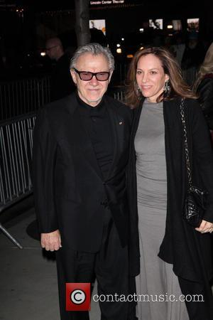 Harvey Keitel and Daphna Kastner - New York premiere of The Grand Budapest Hotel at the Alice Tully Hall -...
